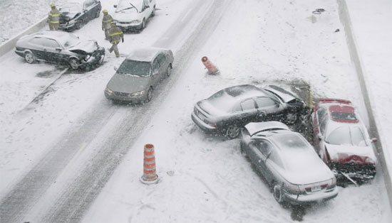 8 Steps To Avoid Car Accidents In The Snow